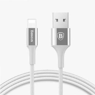 USB data kabal BASEUS SHINING za Iphone lightning 1m srebrni