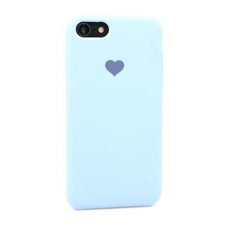 Futrola Heart za Iphone 7/Iphone 8 svetlo plava
