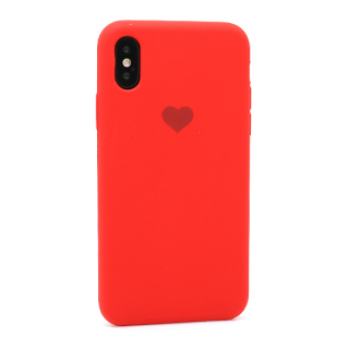Futrola Heart za Iphone X/Iphone XS crvena