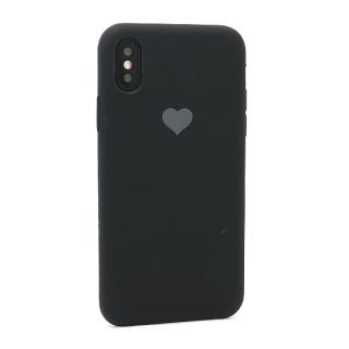 Futrola Heart za Iphone X/Iphone XS crna