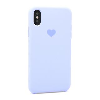 Futrola Heart za Iphone X/Iphone XS lila