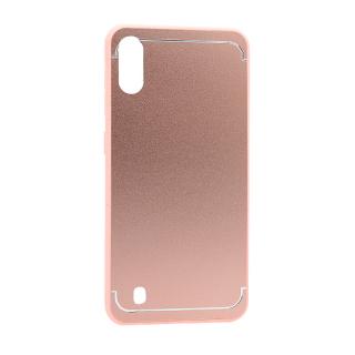 Futrola METAL za Samsung A105F Galaxy A10 roze
