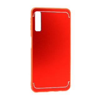 Futrola METAL za Samsung A750F Galaxy A7 2018 crvena
