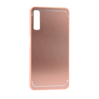 Futrola METAL za Samsung A750F Galaxy A7 2018 roze