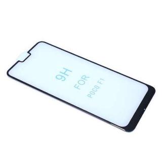 Folija za zastitu ekrana GLASS 5D za Xiaomi Pocophone F1 crna