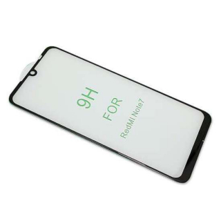 Folija za zastitu ekrana GLASS 5D za Xiaomi Redmi Note 7/Note 7 Pro/Note 7S crna