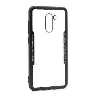 Futrola BACK CLEAR za Xiaomi Pocophone F1 crna