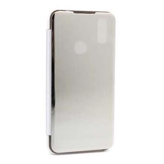 Futrola BI FOLD CLEAR VIEW za Xiaomi Redmi Note 7/Note 7 Pro srebrna