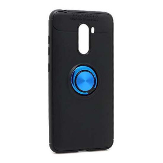 Futrola Elegant Ring za Xiaomi Pocophone F1 crno-plava