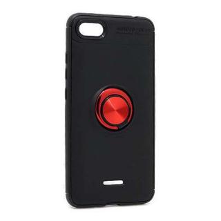Futrola Elegant Ring za Xiaomi Redmi 6A crno-crvena