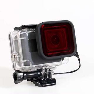 Dodatak za objektiv za GoPro 7 crveni