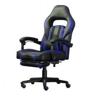 Stolica gejmerska ZK8069 crno-plava