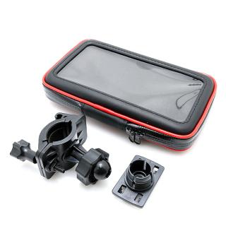 Futrola za bicikl i motor vodootporna 6.0 inch crno-crvena