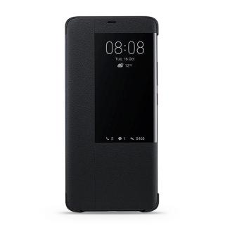 Futrola BI FOLD sa aktivnim prozorom za Huawei Mate 20 Pro crna FULL ORG