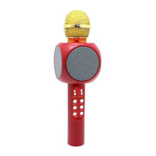 Mikrofon 1816 Bluetooth crveni
