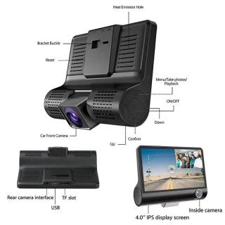 Auto kamera Dual Lens WDR G10 Plus