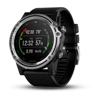 Nautički ronilački GPS sat Garmin Descent MK1 Silver
