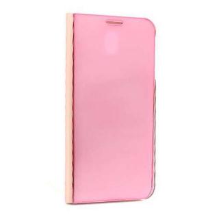 Futrola BI FOLD CLEAR VIEW za Samsung J730F Galaxy J7 2017 (EU) roze
