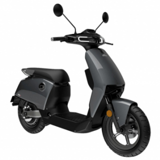 Super Soco CUX Electric Motorcycle Grey
