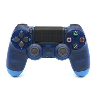 Joypad DOUBLESHOCK IV bezicni providno plavi