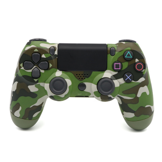 Joypad DOUBLESHOCK IV bezicni army zeleni
