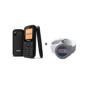 Energizer mobilni telefon E10 + sat beli