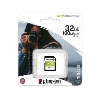 Kingston SDXC 32GB Class 10 U1 100MB/s-85MB/s SDS2/32GB