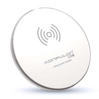 Bezicni punjac KONFULON (WiFi) FAST Q06 + LED beli