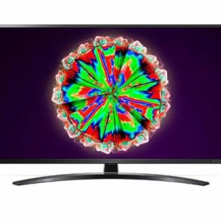 LG 55NANO793NE LED TV 55 NanoCell UHD, WebOS ThinQ AI, Iron Gray, Crescent stand, Magic remote