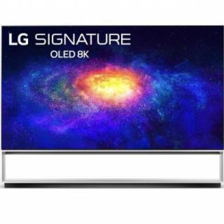 LG OLED88ZX9LA OLED TV 88 8K Ultra HD, WebOS ThinQ AI, Twin tuner, Sculpture design, Magic remote