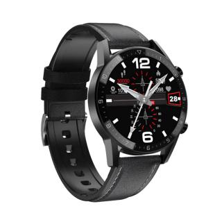 Smart Watch DT92 crni (kozna narukvica)