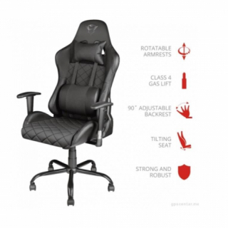 Trust stolica GXT 707 Resto gejmerska crna