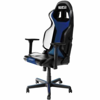GRIP Gaming/office chair Black/Blue Sky