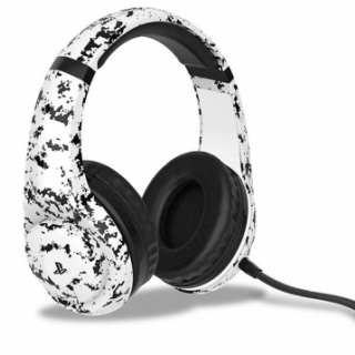 PS4 Camo Edition Stereo Gaming Headset - Arctic