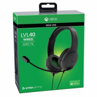 XBOXONE Wired Headset LVL40 Black