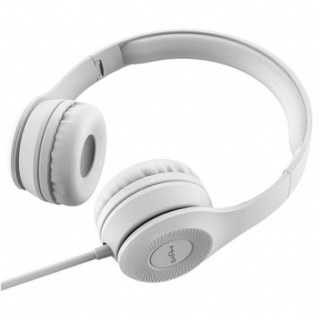 Enyo Foldable Headphones with Microphone Light Gray