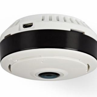 Nedis IP Security Camera | 1280x960 | Panorama | White / Black