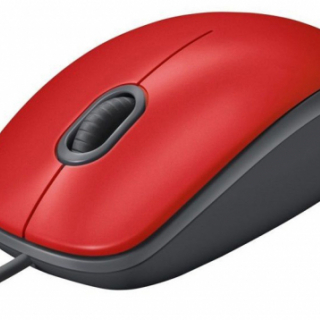M110 Silent Optical Mouse Top Red