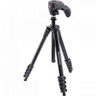 MANFROTTO TRIPOD MKCOMPACTACN-BK COMPACT ACTION BLACK